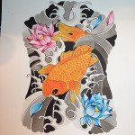 koi back-piece