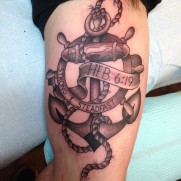 The anchor is a symbol for faith and hope. One that pre-dates the Cross
