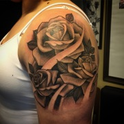 rose half sleeve